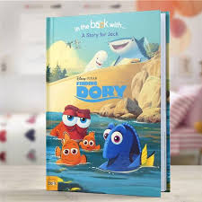 Finding Nemo Story Book For Children Read Aloud Personalized Disney Finding Dory Storybook Simplypersonalized