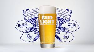 is bud light made with rice bud light marketers shift focus to what is in the glass in latest