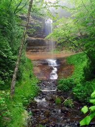Michigan Waterfalls images The real pure michigan 5 stunning michigan waterfalls jpg