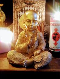 spiritual statues gold baby monk gold baby figurine spiritual statues baby