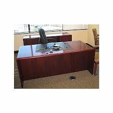 computer desk and credenza executive desk credenza sets used