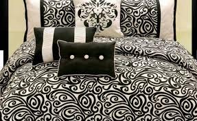 Black And White Comforter Set King Bedding Set Rare Black And White Bedding Set Full Glamorous