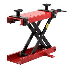 Motorcycle Bench Lift Motorbike Scissor Lift Stand 138 300 Lb Hydraulic Scissor Lift