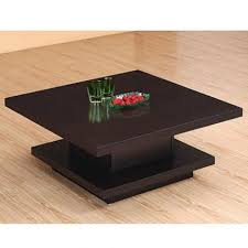 coffee table coffee table square withrawers storage black wooden