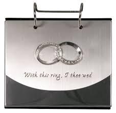 flip photo album 4x6 malden international designs wedding rings with this