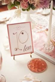 Wedding Table Number Ideas Vintage Wedding Ideas