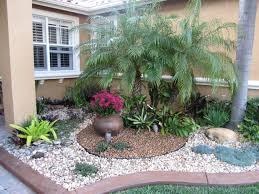 frontyard landscaping great rock ideas for front yard garden trends