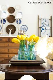 Easter Decorations With Mason Jars by Quick Easter Decorating Ideas On Sutton Place