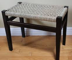 Seagrass Bench Chair Rushing Supplies