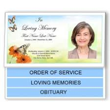 funeral programs exles funeral programs funeral program template bottom fold templates