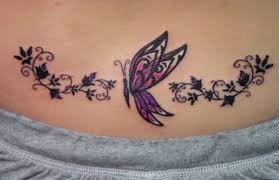 lower back butterfly photos pictures and sketches