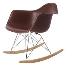 Eames Inspired Rocking Chair Charles Eames Rocking Chair Rar Chrome Base Rocking Chair Design