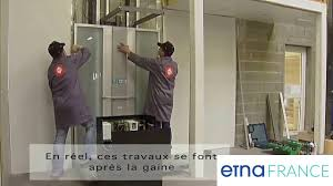 ascenseur interieur maison installation d u0027un ascenseur privatif etna france youtube