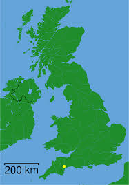 Portwenn England Map by Exeter England Map London Map
