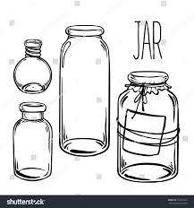 glass bottles vector illustration on aged stock vector 335276783