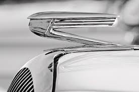 1936 buick 40 series ornament 2 photograph by reger