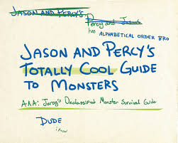 jason and percy u0027s totally cool guide to monsters part 1 10