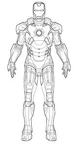 iron man coloring pages funycoloring