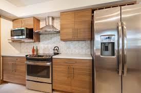 Modernize Kitchen Cabinets Before U0026 After Midcentury Modernized Kitchen In Crystal