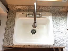 reglaze cast iron sink how to refinish enamel cast iron sink sink ideas