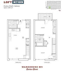 Warehouse Loft Floor Plans Barker Block Warehouse No 1 Downtown La Lofts 527 Molino St