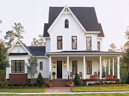 One Story House Plans With Porches Southern Living House Plans Farmhouse Luxihome