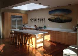 open walls for a sunny ikea kitchen