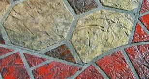 decorative concrete decrete stencils asphalt