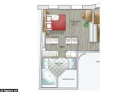 plan de chambre plan chambre dressing salle de bain 14 plans pour moderniser un