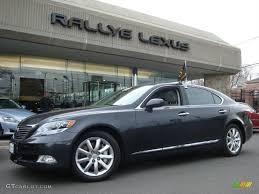 lexus ls 460 hybrid 2008 smokey granite gray mica lexus ls 600h l hybrid 27625555