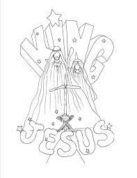 jesus in the manger coloring page christmas coloring pages for the kiddos the creative word of god