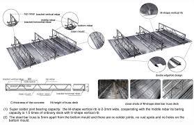 truss deck sandwich panels bundesteel