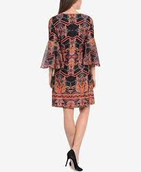 ny dress ny collection bell sleeve a line dress dresses women macy s
