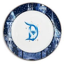 60th anniversary plates your wdw store disney dinner plate disneyland 60th diamond