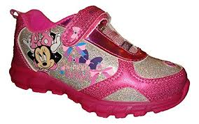 minnie mouse light up shoes disney girls sneaker shoe minnie bowtique pink light up shoes