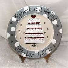 ceramic wedding plates inscribed wedding plate wedding gifts porcelain