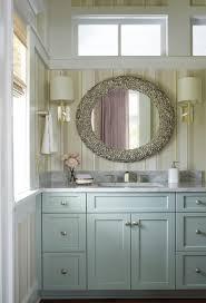 Striped Wallpaper Bathroom Coastal Bathroom Designs Bathroom Beach Style With Multi Color