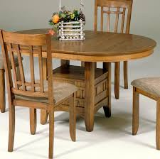 Kitchen Table With Storage Oval Pedestal Table With Storage Base By Liberty Furniture Wolf