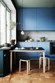 navy blue kitchen cabinets warm light cute grey yellow kitchen design concept eccentric