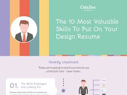 What Are Skills To Put On Resume Creative Market U201dthe 10 Most Valuable Skills To Put On Your