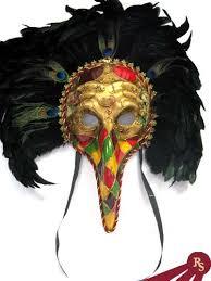 venetian bird mask feathered big bird masquerade mask costumes venetian masks