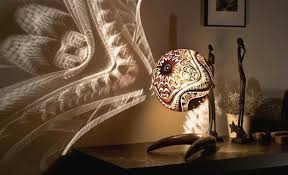 Creative Lighting Fixtures Unique Lighting Fixtures Blending Carved Gourd Art And Organic