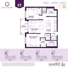 floorplans u2013 the gateway gem condo residences