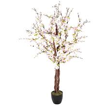 closer2nature artificial 5ft pink japanese cherry blossom tree