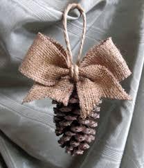 pinecone ornaments diy pine cone ornament home design 35