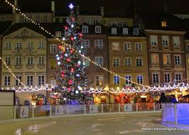 starry nights christmas lights in warsaw u0027s old town my