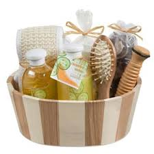 spa gift basket spa relaxation baskets for less overstock