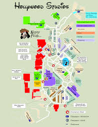 Universal Studios Orlando Map 2015 April 2016 Disneys Hollywood Studios Guide Map With Backlot Area