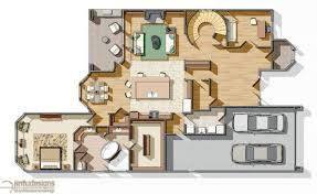 Color Floor Plan Color House Plans Escortsea