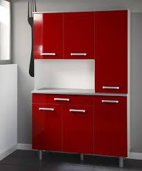 Red Gloss Kitchen Cabinets Contemporary Kitchenette Design With Cerise Bretta Kitchen
